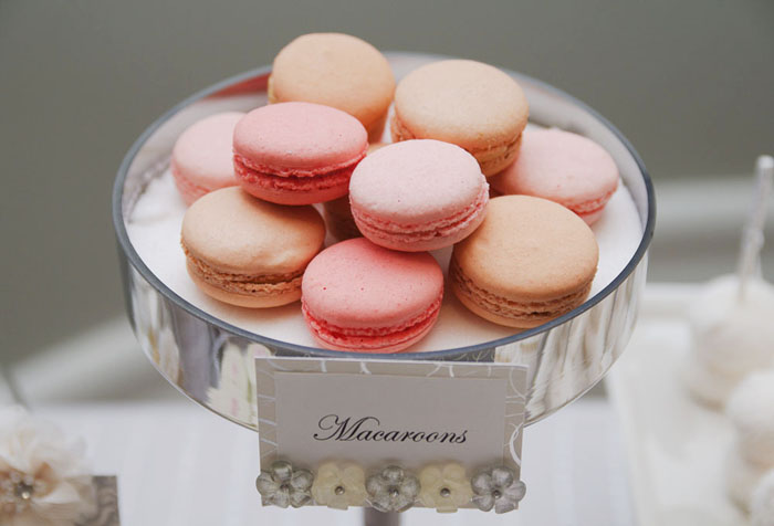 Macarons1 White Wedding Guest Dessert Feature