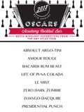 Academy Award Cocktail Bar – Oscar Movie Mixology