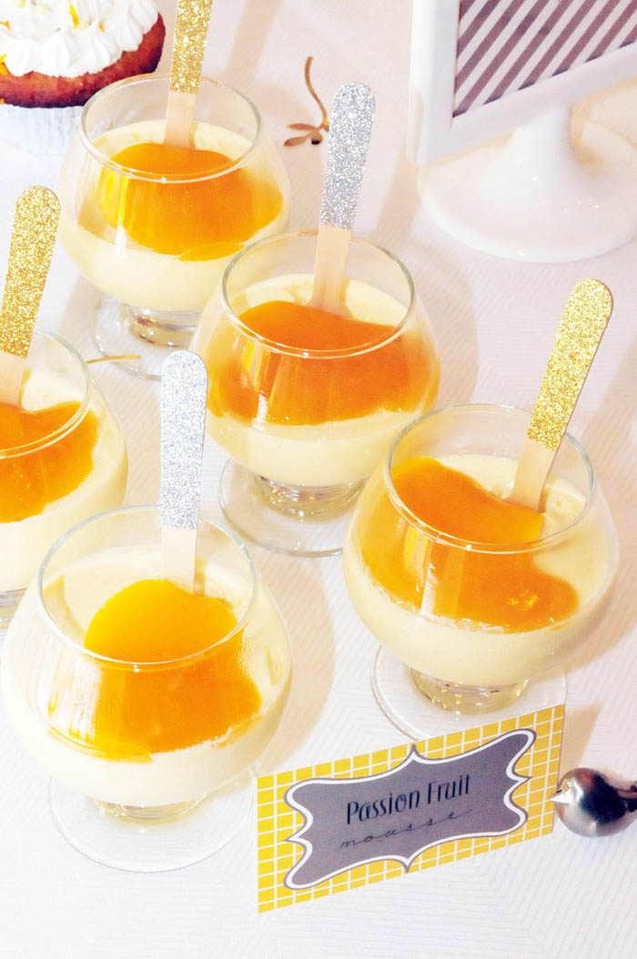 Passion Fruit Custard