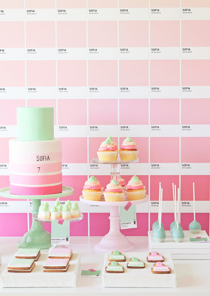 Pantone Backdrop Pretty Pantone Guest Dessert Feature