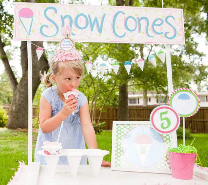 sno cone party Lets Chill Guest Dessert Feature