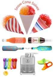 Summer Snow Cone Soiree