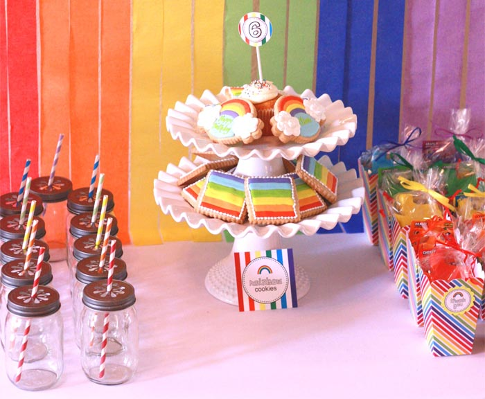cookies rainbow Rainbow Guest Dessert Feature