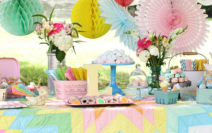 pastel picnic party Pastel Picnic Guest Dessert Feature