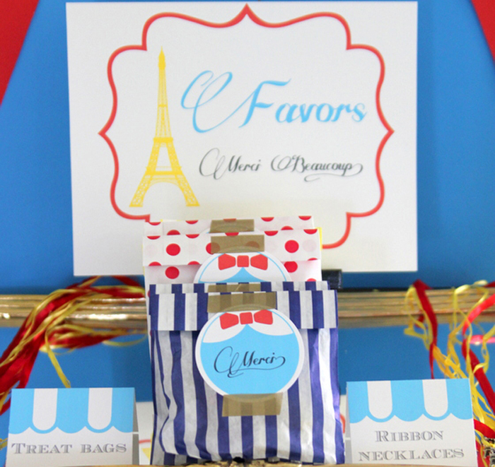 Favors Madeline Party Madeline Parisian Birthday Party