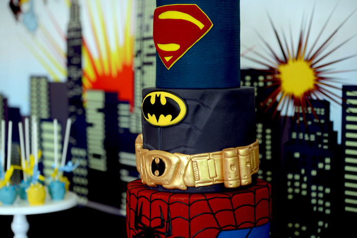 cake Superhero Guest Dessert Feature