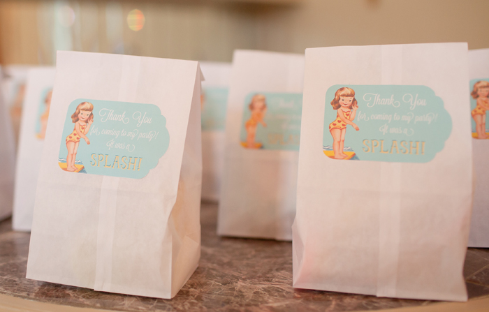 swimming party goody bags Cabana Guest Dessert Feature