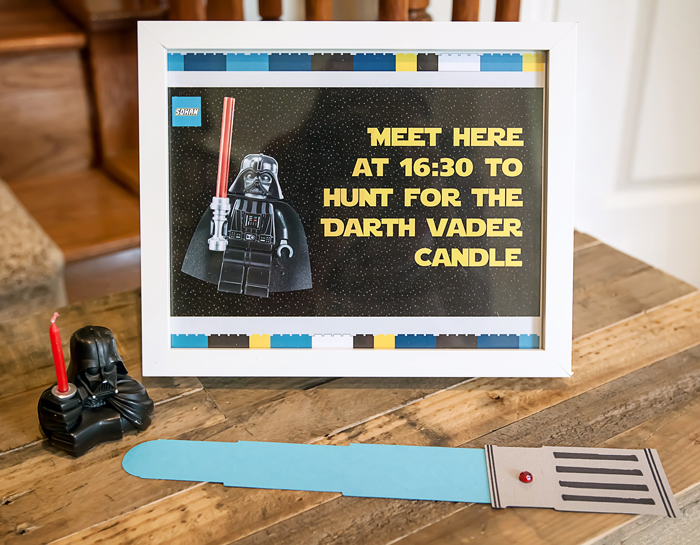 Candle Ceremony Legos And Lightsabers Party: Part II