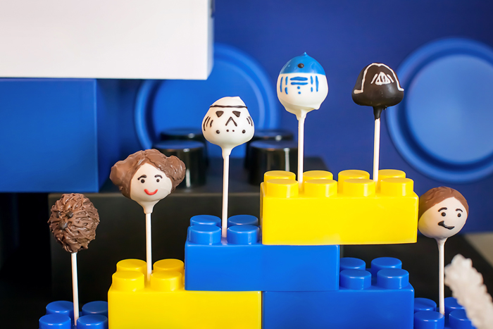 Darth Vader Cake Pops Legos And Lightsabers Guest Dessert Feature: Part I