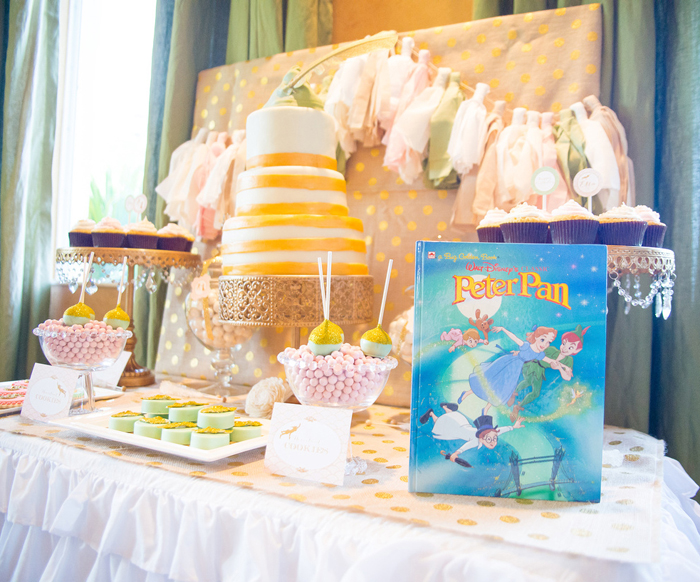 Peter Pan Dessert Table Pretty Peter Pan Guest Dessert Feature