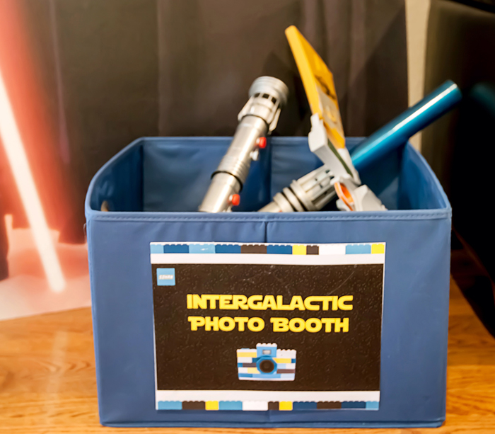 PhotoBooth Legos And Lightsabers Party: Part II