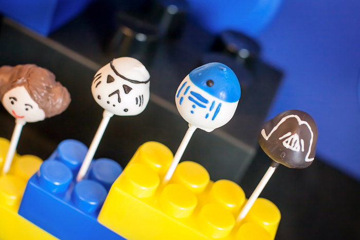 Star Wars Cake Pops Legos And Lightsabers Guest Dessert Feature: Part I