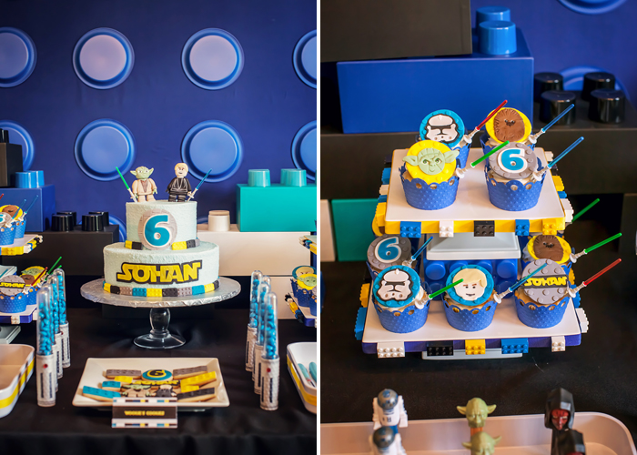 Star Wars Cake Legos And Lightsabers Guest Dessert Feature: Part I