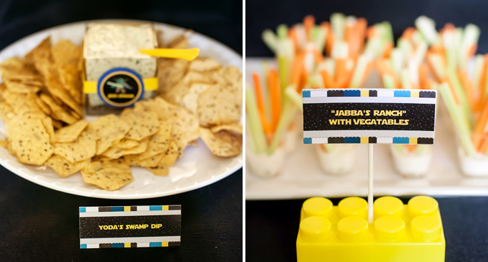 Veggie Dip Legos And Lightsabers Party: Part II