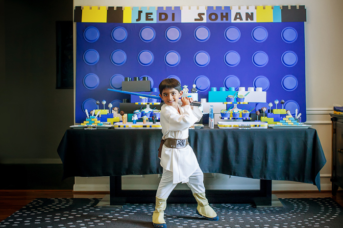 Young Jedi Legos And Lightsabers Guest Dessert Feature: Part I
