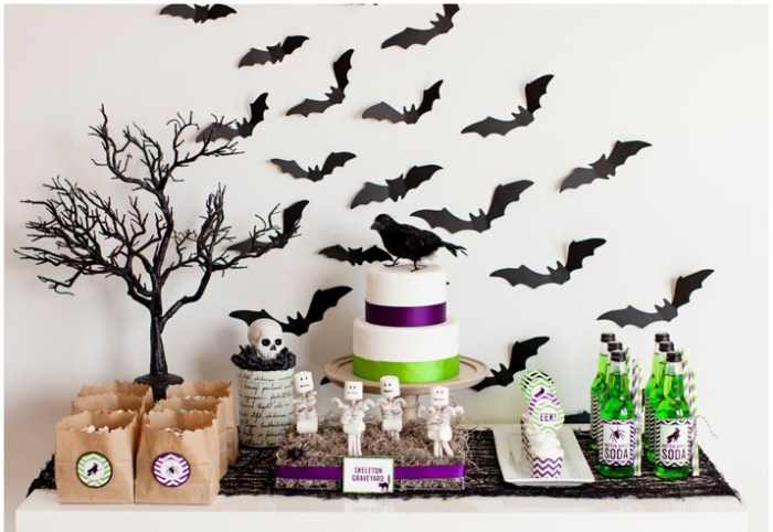 halloween dessert table Halloween Party Kits by TomKat {Giveaway}