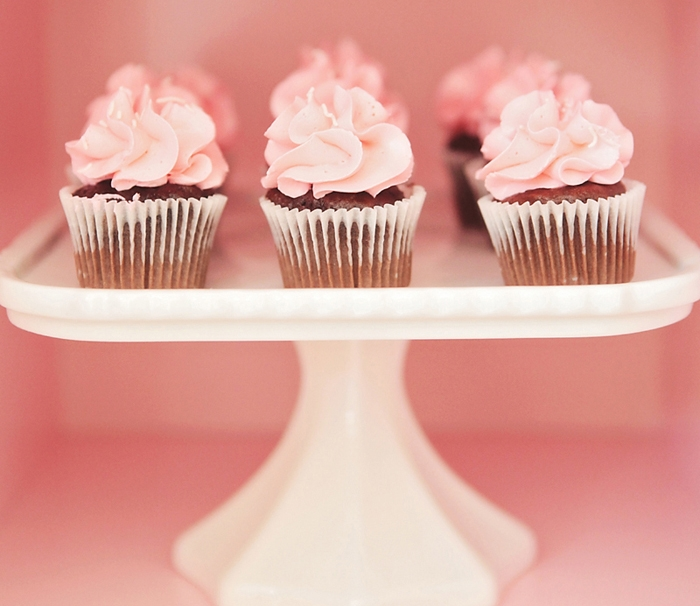 Baking Party | Pink Cupcakes