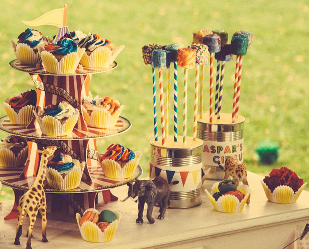 Circus Party for Kids | Shimmery Marshmallows