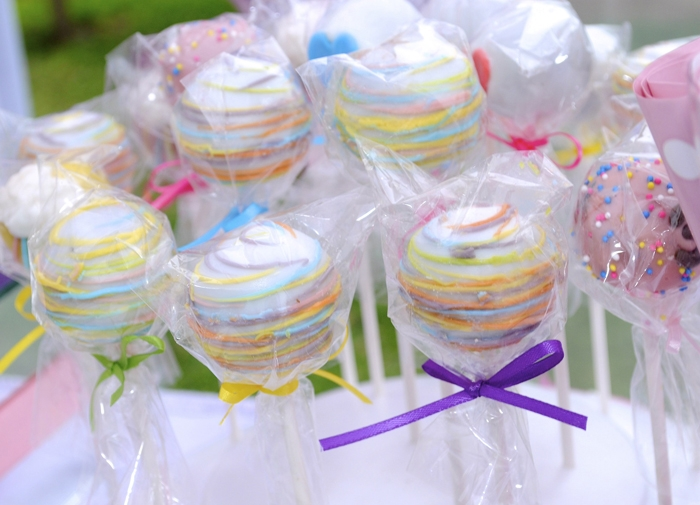 Red Velvet Cake Pops Unicorns & Rainbows Guest Dessert Feature