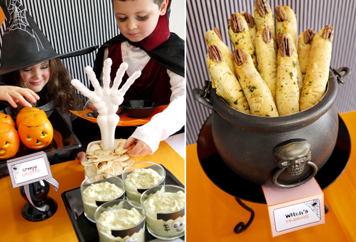 Witches Fingers Chilling Halloween Party