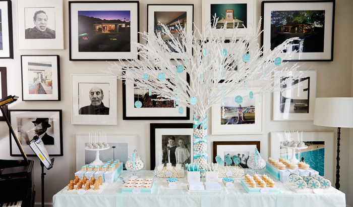 Dessert Table Winter Wonderland Party