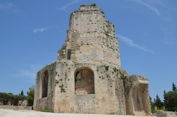 The Tour Magne, remnant of the ancient Augustan fortifications of Nemausus, Nîmes © Carole Raddato