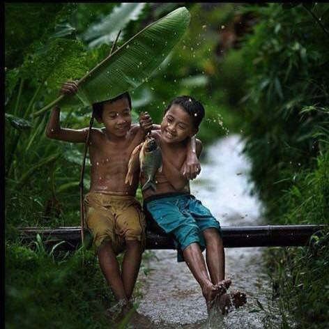 カンボジアの子供