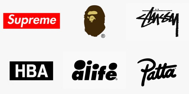 Clothes brands logos and names