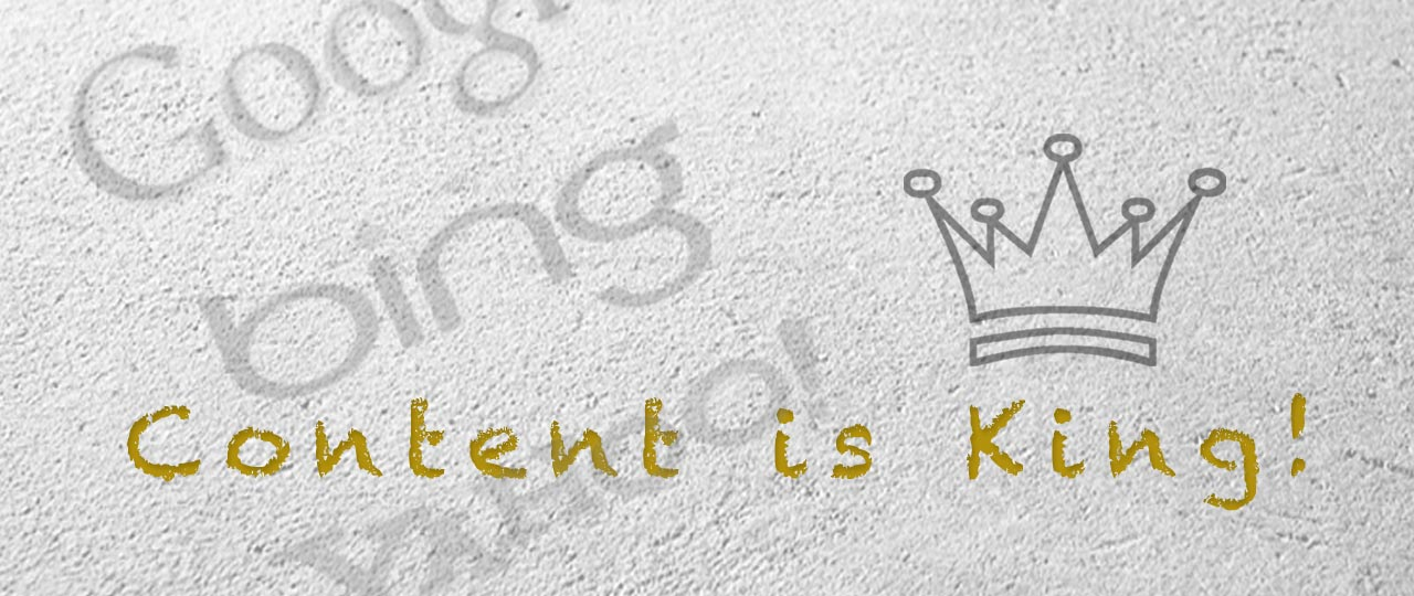 SEO - Content is King