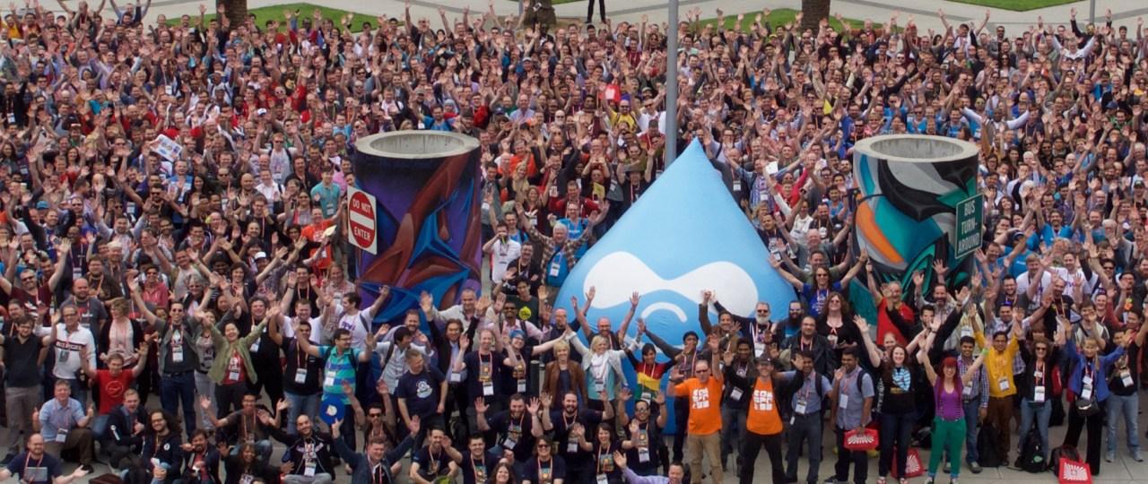 Group Foto DrupalCon 2015