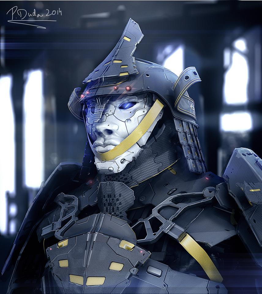 Cyber Samurai by Przemek Duda