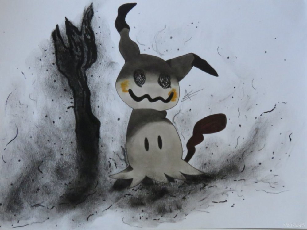 Pokemon Sun and Moon Mimikkyu by AVtheCreeper