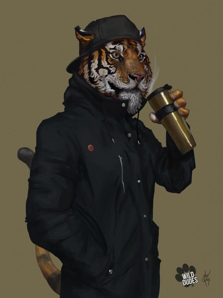 Tiger Me by Alex Cash