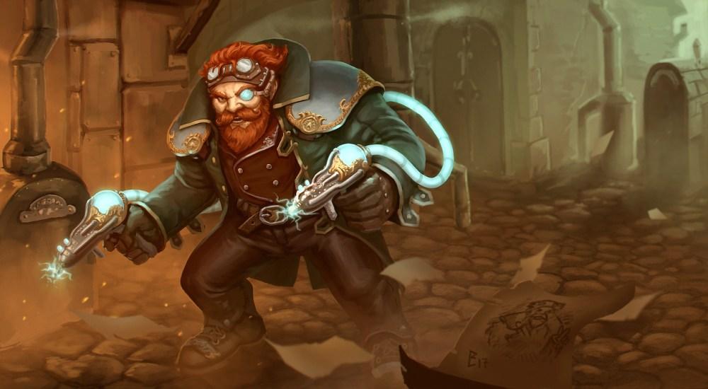 Steampunk Dwarf by Rastislav Le