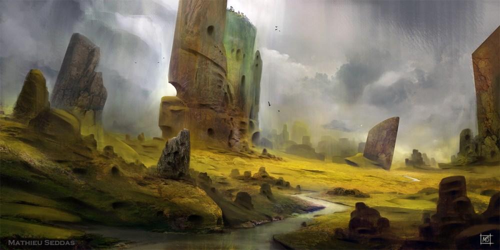Land Of Rain by Mathieu Seddas