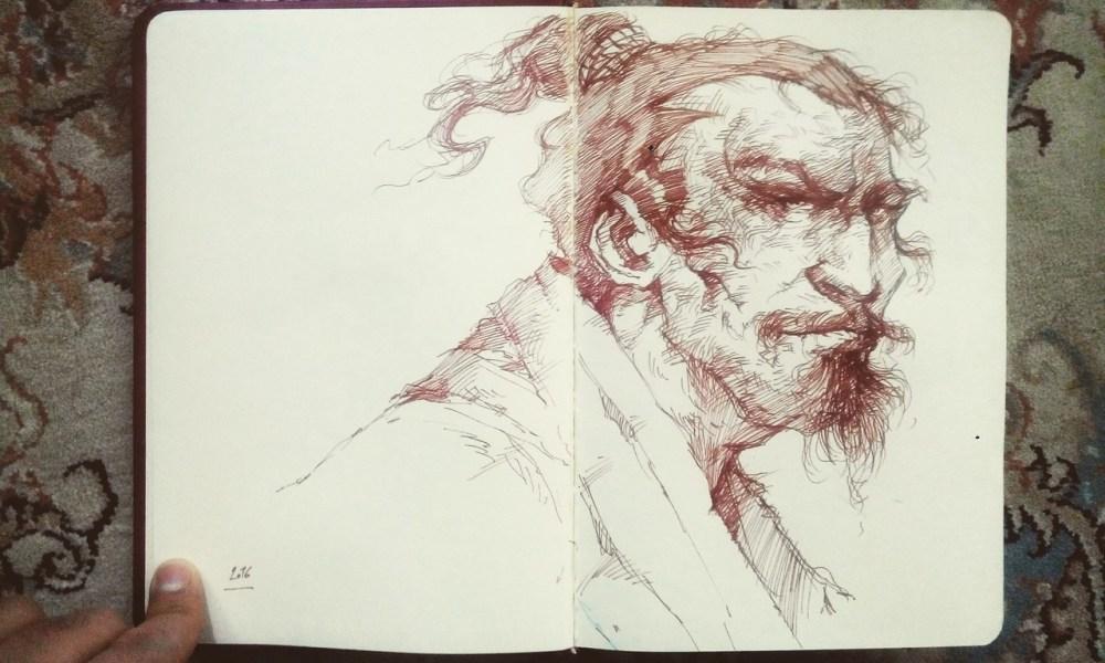 Sketch Book 02 by Behnam Balali
