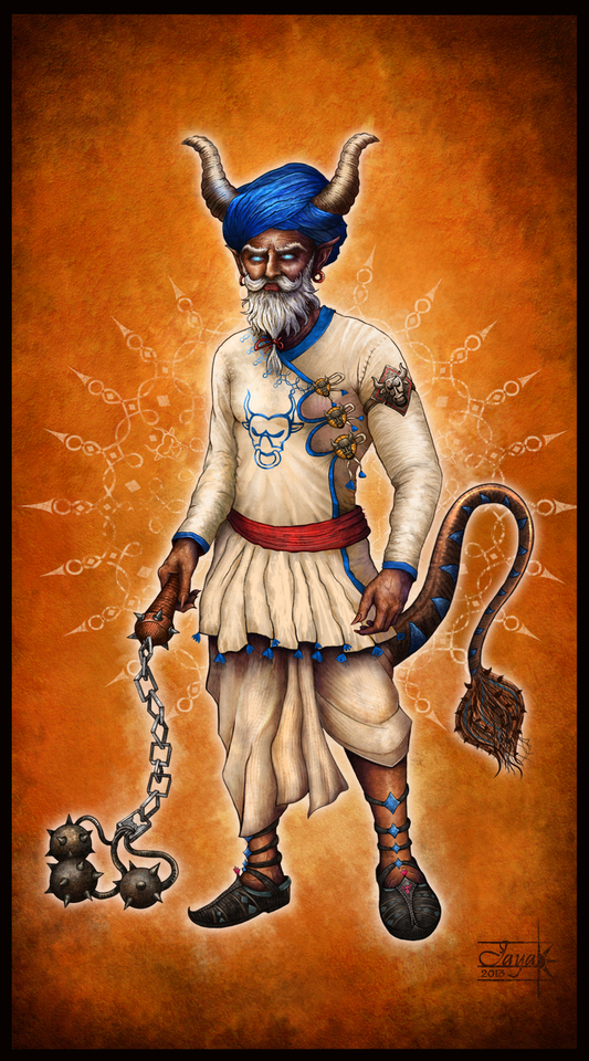 Indian Warrior by aishwaary anant
