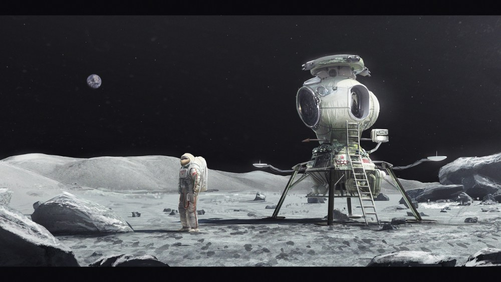 Soviet Moon by Mac Rebisz