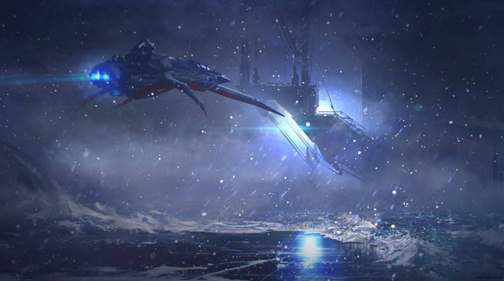 Snowflake City by Ivan Kashubo
