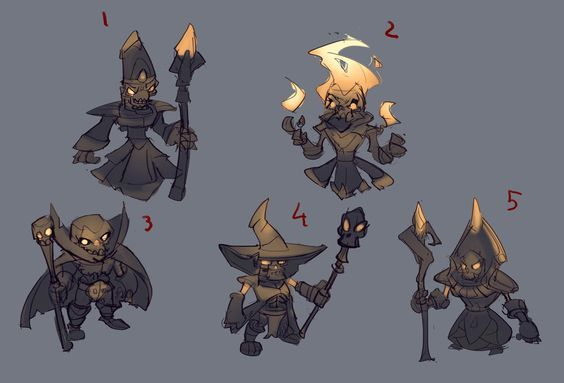 Mage Sketches
