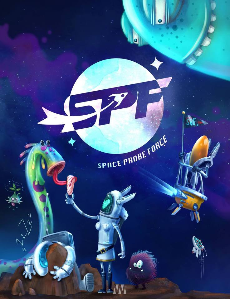 Spf Space Probe Force by Lina Porras