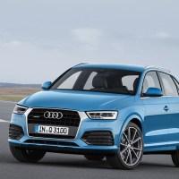 Nouvel Audi Q3 : une face avant revue et une version RS boostée