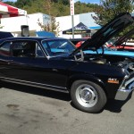 classic black 427 chevy nova waynesville chevy 3rd disabled american veteran's car show
