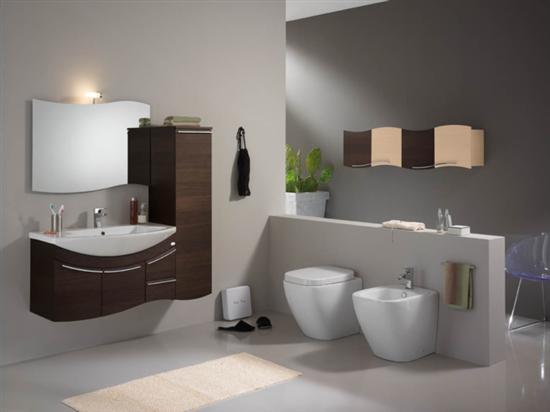Mobiletti bagno mobile bagno design moderno finitura legno