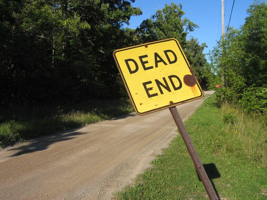 """""""Dead end"""" par Benny Lin, CC by 2.0"""