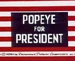 Popeye For President (1956) - Popeye the Sailor Cartoon