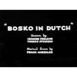 Bosko In Dutch