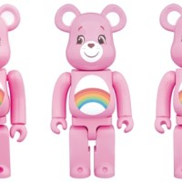 Care Bears Cheer 100% 400% 1000% ベアブリック(BE@RBRICK)[予約]