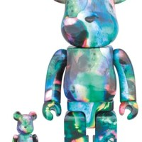 PUSHEAD BLUE WATER 100% & 400% ベアブリック (BE@RBRICK) [発売]