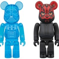 STAR WARS DARTH VADER HOLOGRAPHIC Ver & DARTH MAUL 2pc ベアブリック (BE@RBRICK) [情報]